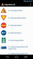 Screenshot of Vägmärken SE