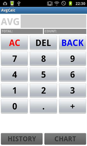 AvgCalc 平均電卓