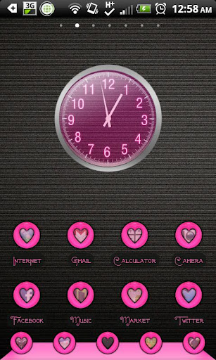 THEME - Pink Heart Halo
