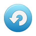 Blue SyncRoid icon