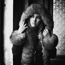 by Rama S - Black & White Portraits & People