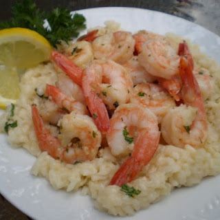 Scampi With Risotto