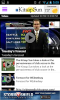 Screenshot of Kitsap Sun