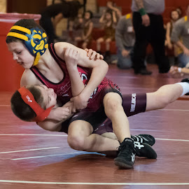 Takedown by Tabitha Cowan - Sports & Fitness Other Sports ( indiana, wrestling, youth wrestling, siewc, princeton indiana )
