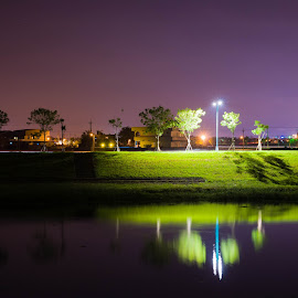 Light and shadow by Jay Chen - Landscapes Travel ( reflection, riverside, shadow, light, river )