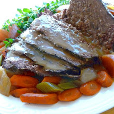 Yankee Pot Roast of Beef With Vegetables (In the Crock-Pot)