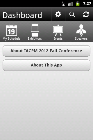 IACPM 2012 Fall Conference