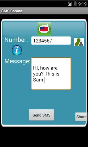 SMS Samoa - screenshot