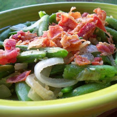 Sugar Snap Peas with Bacon