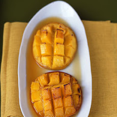 Mangoes Flambé