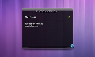 Screenshot of Dell Stage Photo Widget