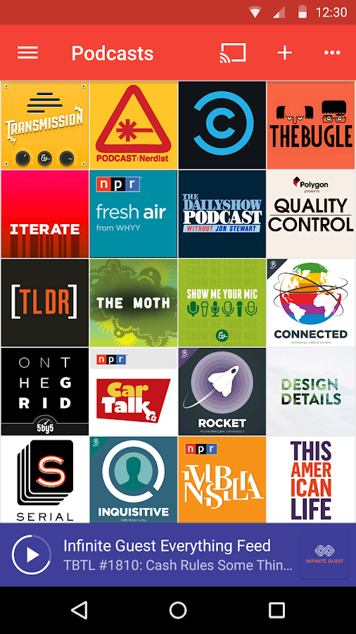 Pocket Casts Screenshot 0