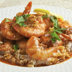 Shrimp with Spicy Chili and Beer Sauce