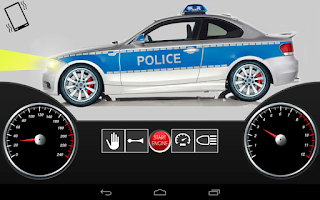Screenshot of Toddler Police Car Pro