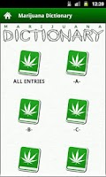 Screenshot of Marijuana Dictionary