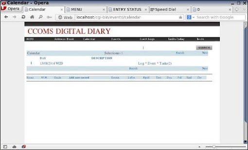 Events manager and diary X86 - screenshot