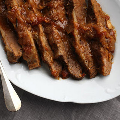 Spice and Herb Oven-Braised Brisket