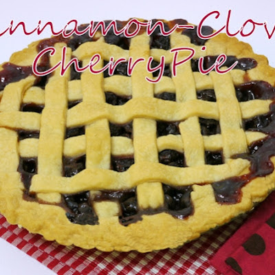 Cinnamon-Clove Fresh Cherry Pie