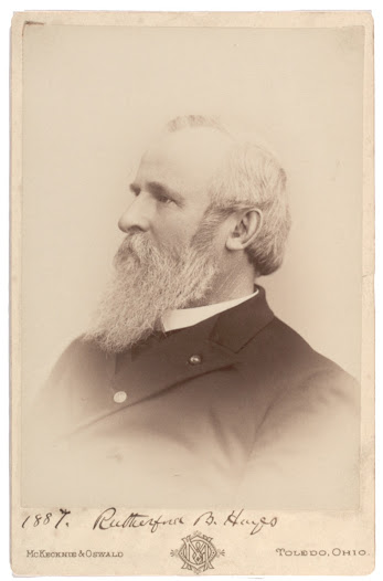 <b>A Contested Election</b>  The outcome of the 1876 election was decided only three days before inauguration day. Republican Rutherford B. Hayes, shown here in a photograph taken eleven years after the election, lost in popular votes to Democrat Samuel J. Tilden.