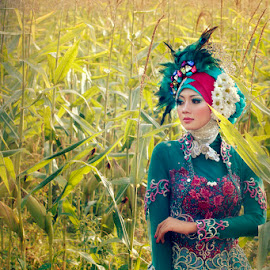 hijab setio ayu  by Sesar Arief - People Fashion ( fashion, woman, hijab, people, moslem )