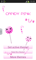 Screenshot of Candy Pink Keyboard