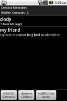 Screenshot of Hide Text/Call Log Theme - Pot