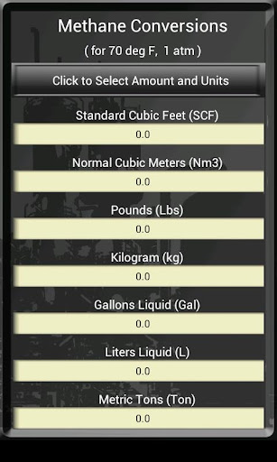【免費工具App】Methane & Unit Calculator-APP點子