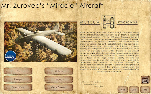 Miracle Aircraft 3D Reconstr.