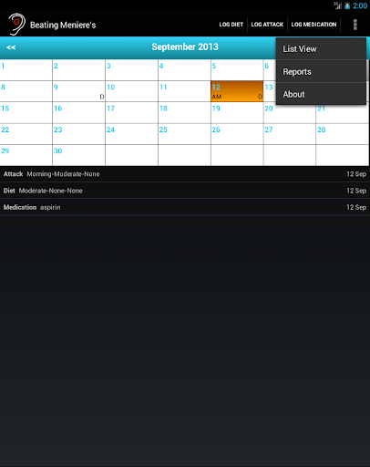 Beating Menieres - screenshot