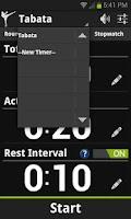 Screenshot of Get Fight Fit Timer Demo