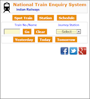 Screenshot of Train Running Status Live