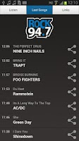 Screenshot of Rock 94.7