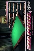 Screenshot of 3D Pool Master Deluxe