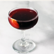 Scotch, Sherry, and Concord Cocktail