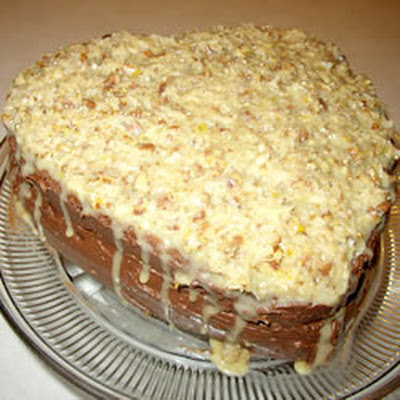 Moist German Chocolate Cake