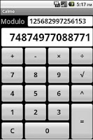 Screenshot of Modular calculator