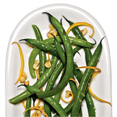 Green Beans with Orange and Hazelnuts
