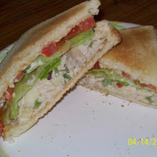 A Famous Chicken Salad Sandwich