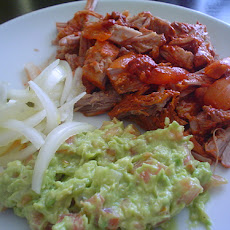 Cochinita Pibil (Slow-roasted Mexican Pork) with Pickled Onions