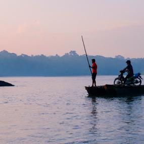 parking by Fathya Zainuri - Transportation Boats ( boats, traditional, natural, traditional boats )