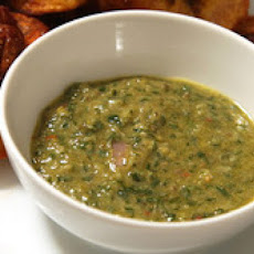Mint Mojo (Puerto Rican-style Garlic Sauce with Mint)