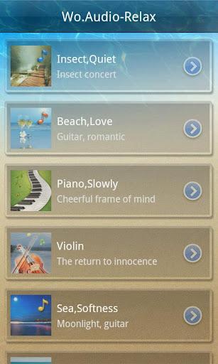 【免費音樂App】美妙音频-减压篇-APP點子