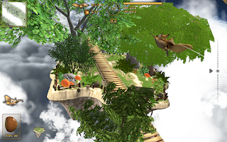 Screenshot of Crazy Flying Squirrel Free