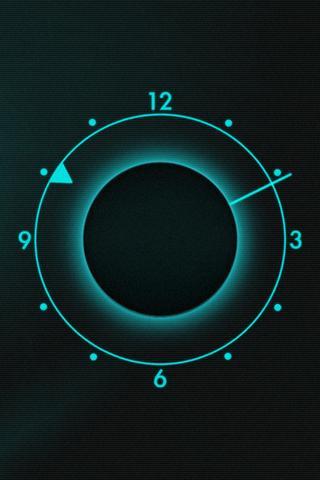 FutureDrone Clock Widget