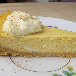 Pumpkin Ricotta Pie-Cheesecake
