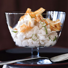 Coconut Rice Puddings with Crispy Coconut