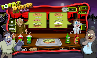 Screenshot of Zombie Burger Salon-Girls Game