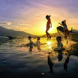 Childhood by Thảo Nguyễn Đắc - Babies & Children Children Candids