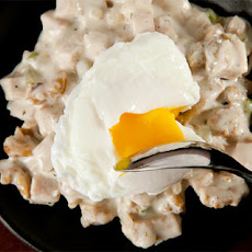 Turkey Hash with Poached Eggs Recipe