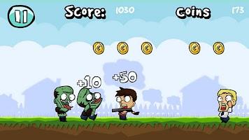 Screenshot of Backyard Zombies